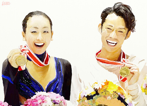 この画像は、サイトの記事「浅田真央 フィギュアスケート 高橋大輔 ネットやTVで話題 YouTube注目無料視聴動画ご紹介!」のイメージ写真画像として利用しています。